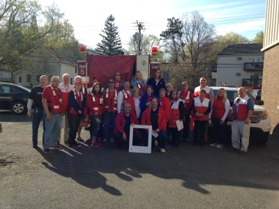 Our Connecticut Red Crossers had an amazing day with the City of New Britain!