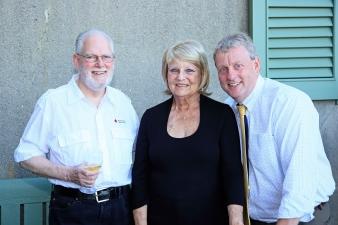 Pat Scharr retirement party