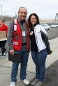 Tom Vaccarelli, Chairmen, Sound the Alarm Connecticut and Red Cross Board Member with Stefanie Arcangelo, Chief Communications Officer, American Red Cross Connecticut and Rhode Island.